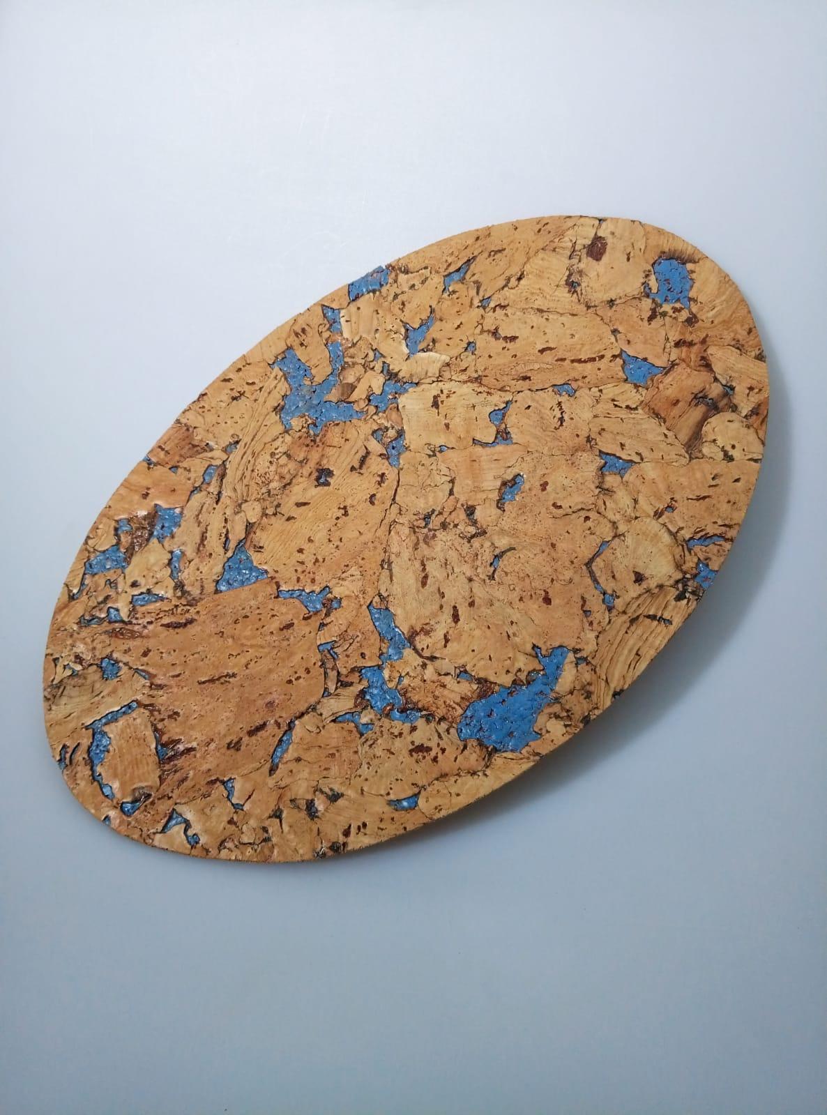 decorative cork oval